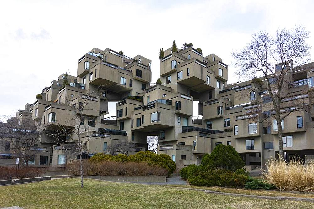 Architecture, Montreal, Quebec, Canada, North America