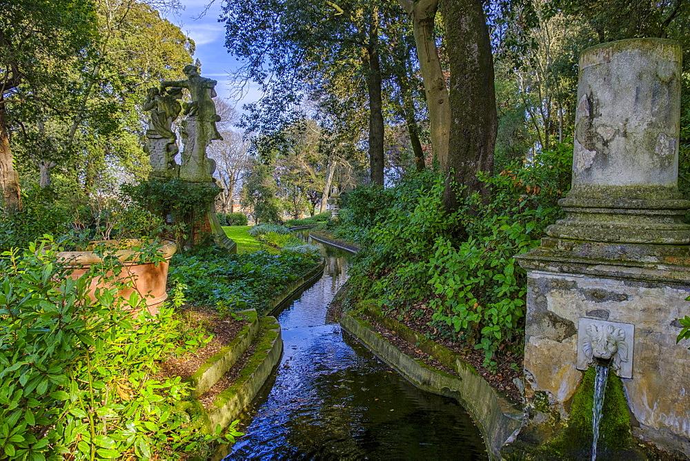 Bardini Gardens, Florence, Tuscany, Italy, Europe