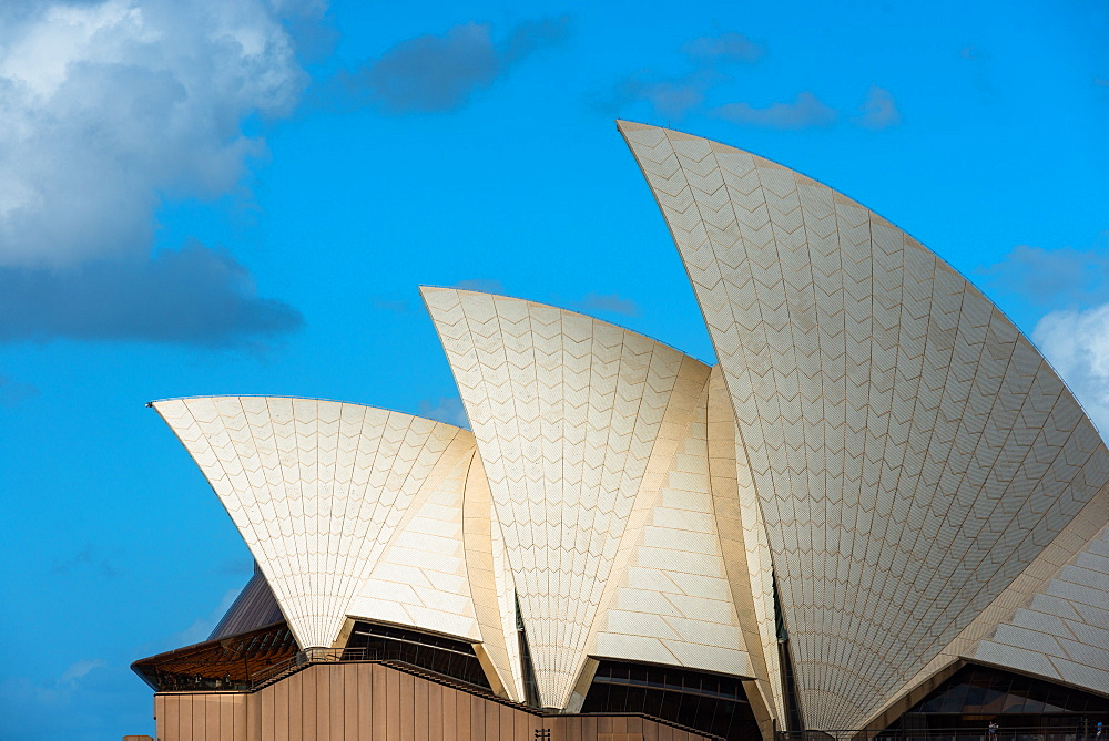 Sydney Opera House sails, Sydney, New South Wales, Australia.