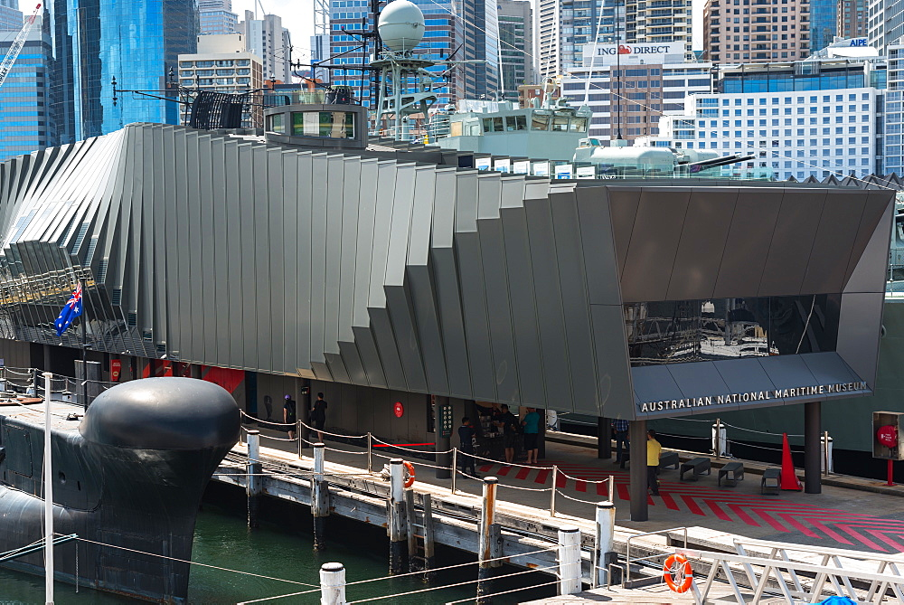 Australian National Maritime Museum at Darling Harbour, Sydney, Australia, Pacific