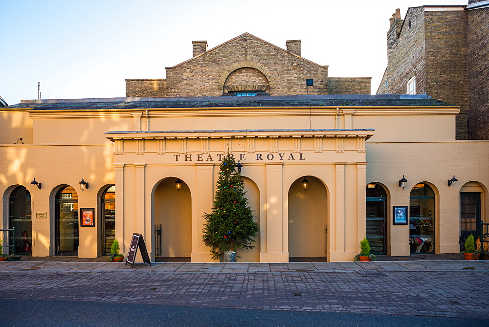 The Theatre Royal, only surviving Regency Theatre in the country, Westgate Street, Bury St. Edmunds, Suffolk, England, United Kingdom, Europe - 1267-236