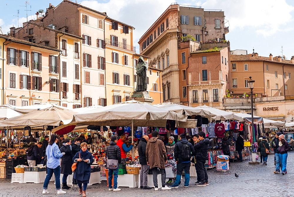 Campo de Fiori Market, Rome, Lazio, Italy, Europe - 1267-312