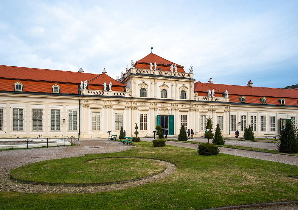 Upper Belvedere palace and gardens, Vienna, Austria