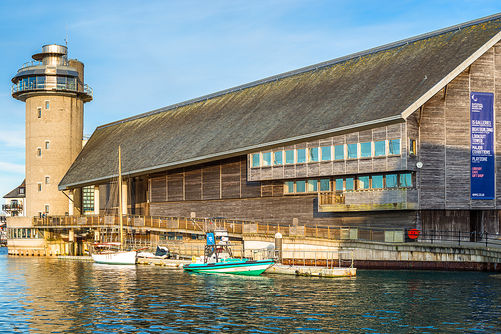 National Maritime Museum Cornwall, Discovery Quay, Falmouth, Cornwall, England, United Kingdom, Europe