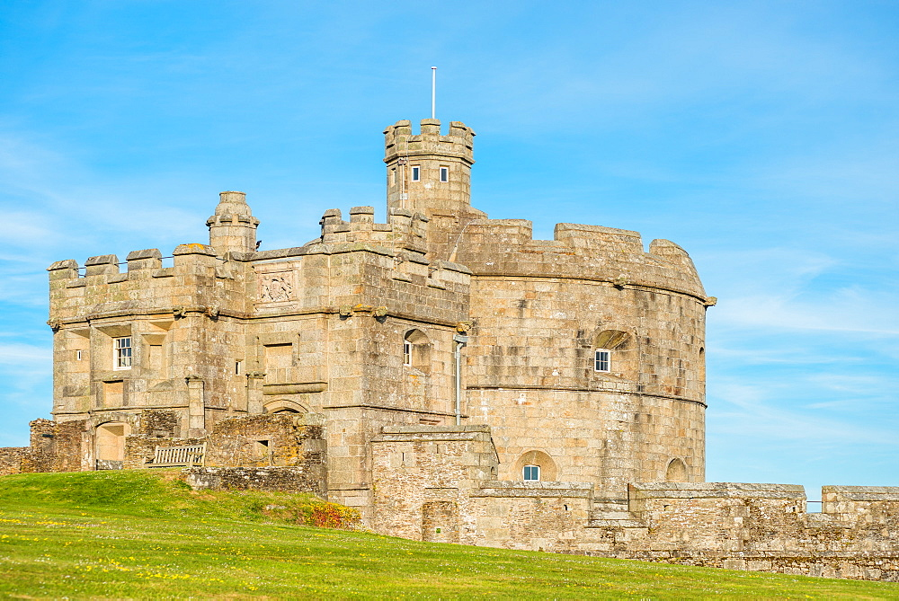 Pendennis Castle, Falmouth, Cornwall, England, United Kingdom, Europe - 1267-457