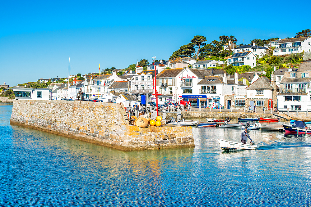 St. Mawes harbour, Cornwall, England, United Kingdom, Europe - 1267-462