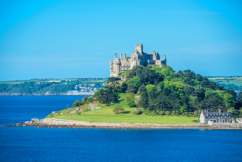 St. Michael's Mount, Marazion near Penzance, Cornwall, England, United Kingdom, Europe - 1267-470
