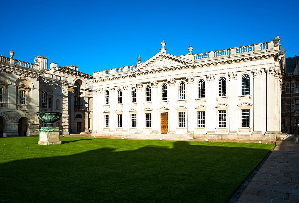 The Senate House of the University of Cambridge is used mainly for degree ceremonies. Cambridgeshire, England, UK. - 1267-95