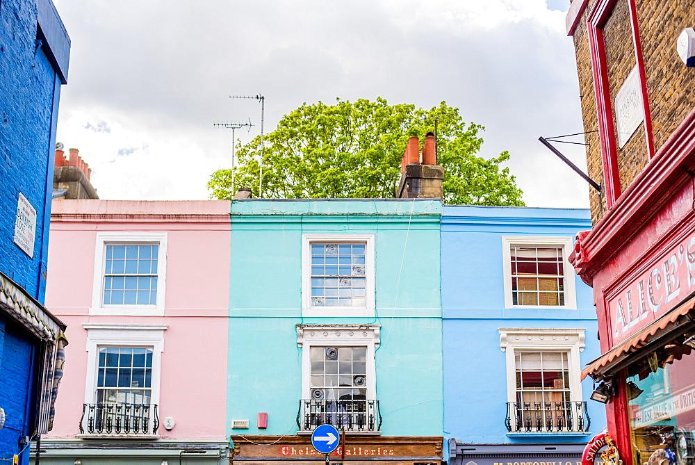 Portobello Road, Kensington, London, England, United Kingdom, Europe - 1272-122