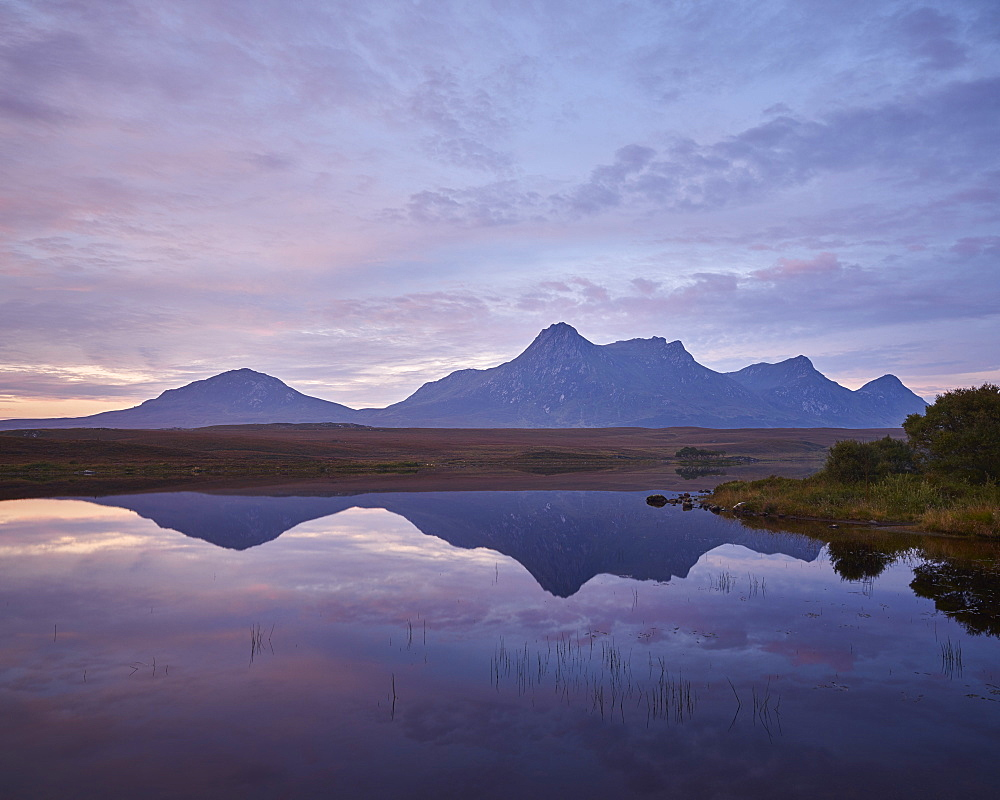Ben Loyal, Tongue, Sutherland, Highlands, Scotland, United Kingdom, Europe