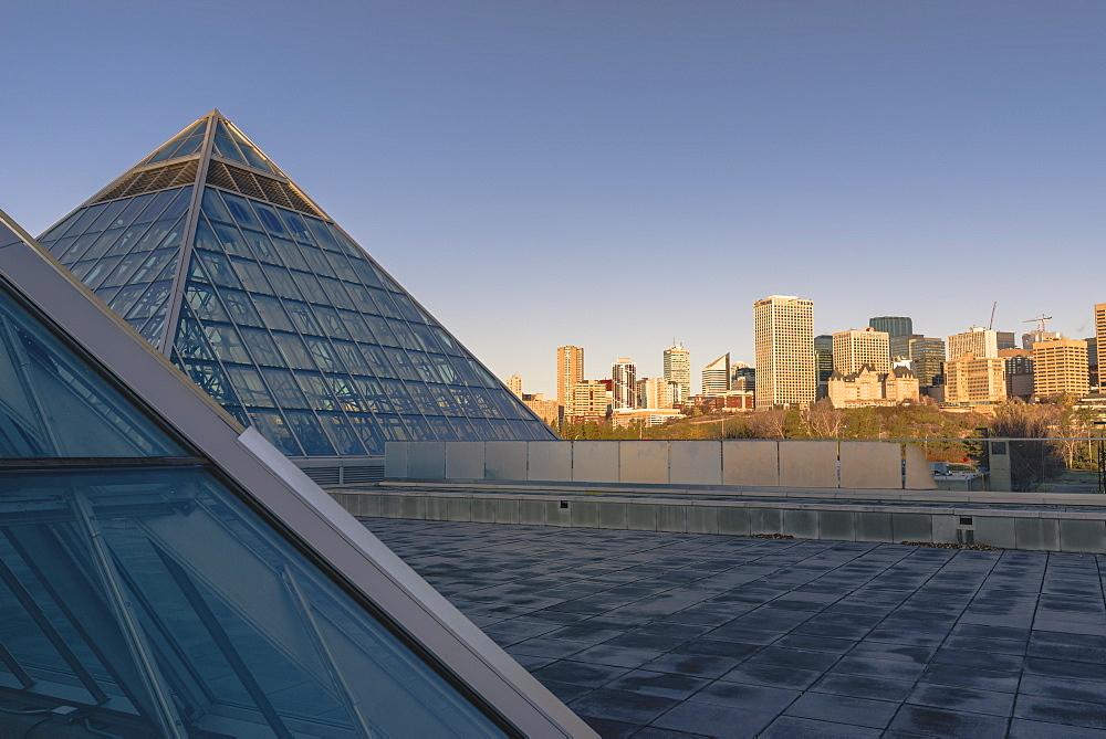 Muttart Conservatory, Edmonton, Alberta, Canada, North America