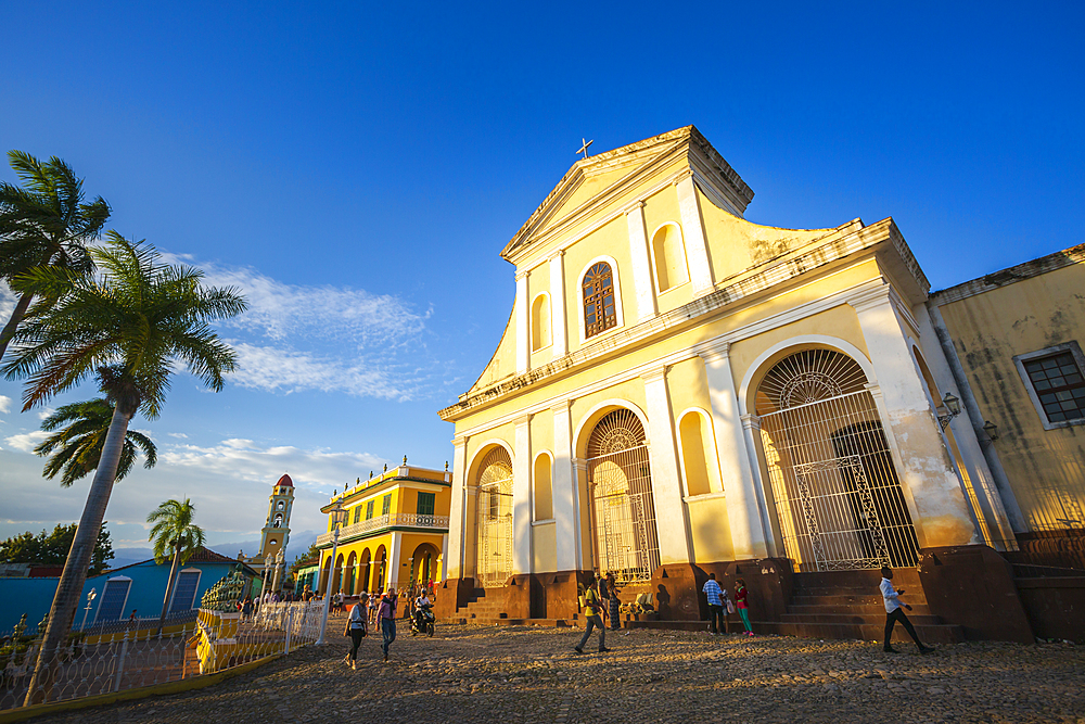 The Church of the Holy Trinity in Plaza Major in Trinidad, UNESCO World Heritage Site,Trinidad, Cuba, West Indies, Caribbean, Central America