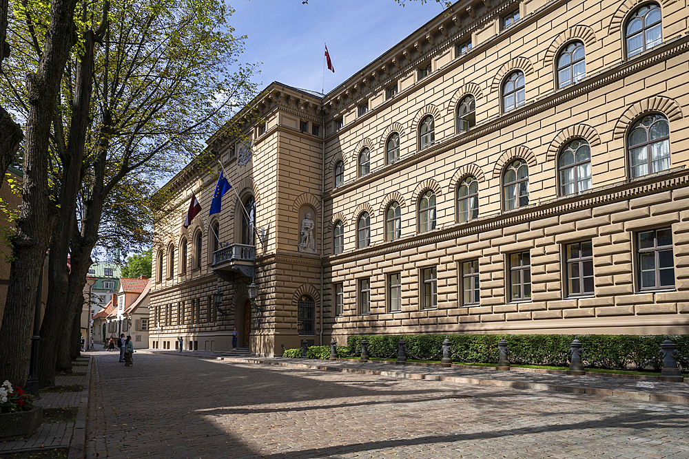 Saema - Government office, Old Town, UNESCO World Heritage Site, Riga, Latvia, Europe