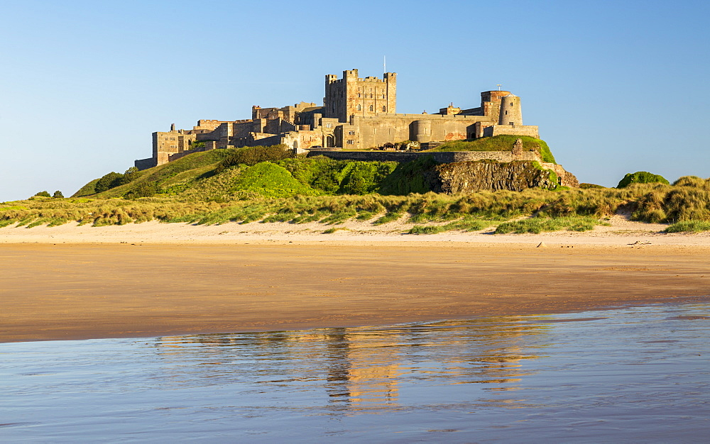 Bamburgh Castle, Northumberland, England, United Kingdom, Europe