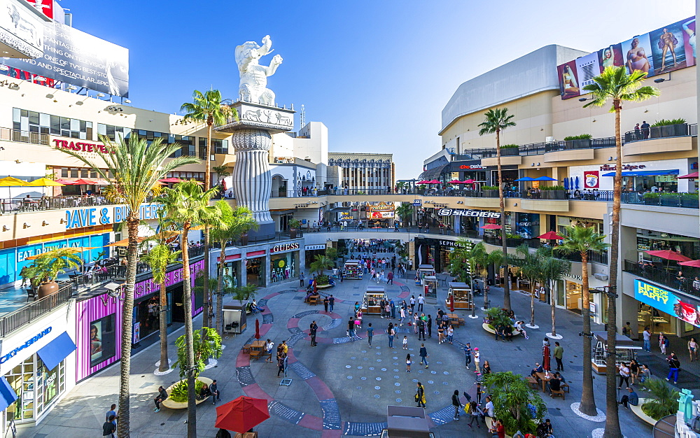 Hollywood and Highland shopping mall, Hollywood Boulevard, Hollywood, Los Angeles, California, United States of America, North America