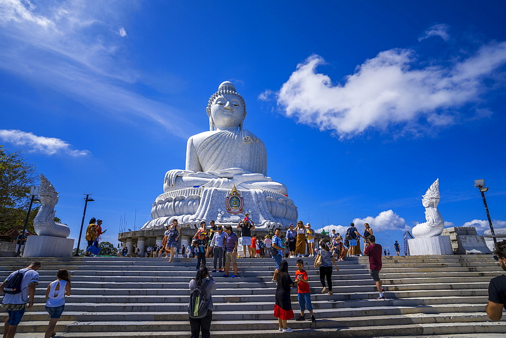The Big Buddha (The Great Buddha) in Phuket, Thailand, Southeast Asia, Asia