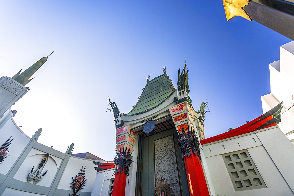 Chinese Theatre on Hollywood Boulevard, Hollywood, Los Angeles, California, United States of America, North America