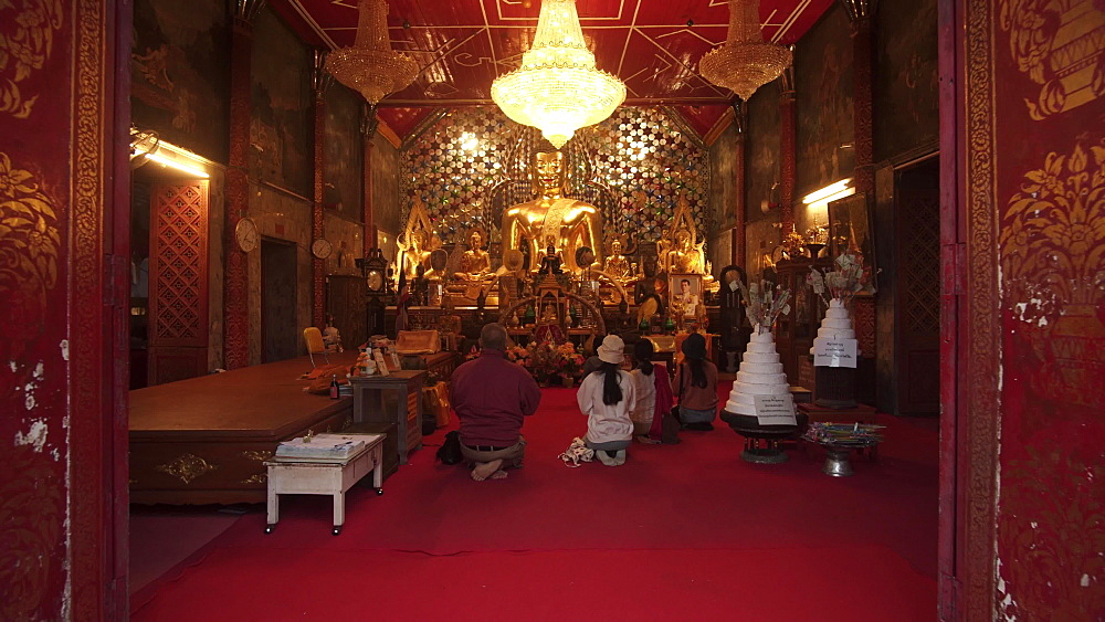 Wat Phra That Doi Suthep temple, Chiang Mai, Thailand, Southeast Asia, Asia