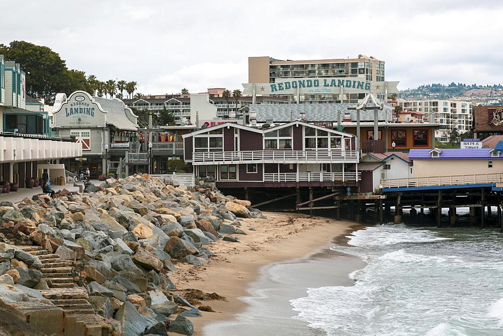 Redondo Landing Pier, Redondo Beach, California, United States of America, North America - 1276-261