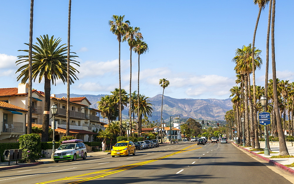 Pacific Coast Highway, Santa Barbara, Malibu Mountains, California, United States of America, North America