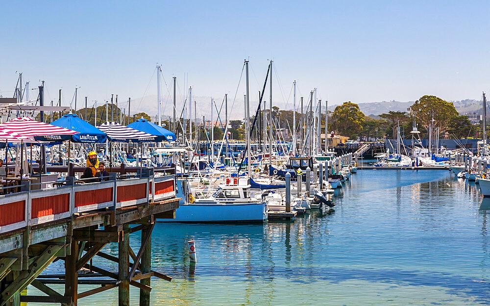 Fisherman's Wharf, Monterey Bay, Peninsula, Monterey, Pacific Ocean, California, United States of America, North America