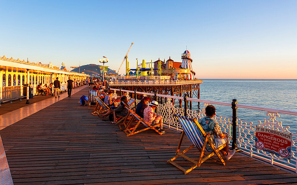 Brighton Palace Pier, East Sussex, England, United Kingdom, Europe