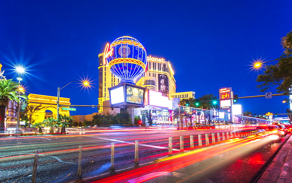 The Strip, Las Vegas Boulevard, Las Vegas, Nevada, United States of America, North America