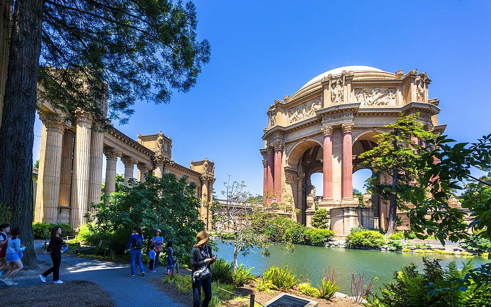 View of Palace of Fine Arts Theatre, San Francisco, California, USA, North America - 1276-437