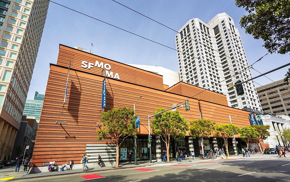 San Francisco Museum of Modern Art, California, United States of America, North America