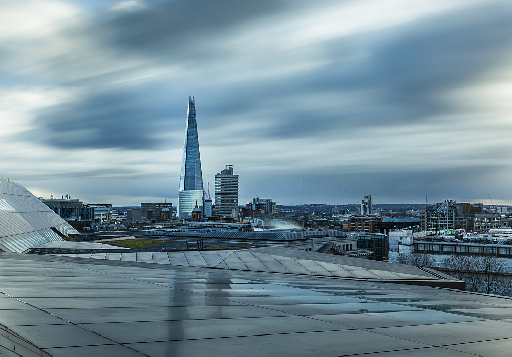 The Shard, cityscape from One New Change, Southwark, London, England, United Kingdom, Europe - 1282-7