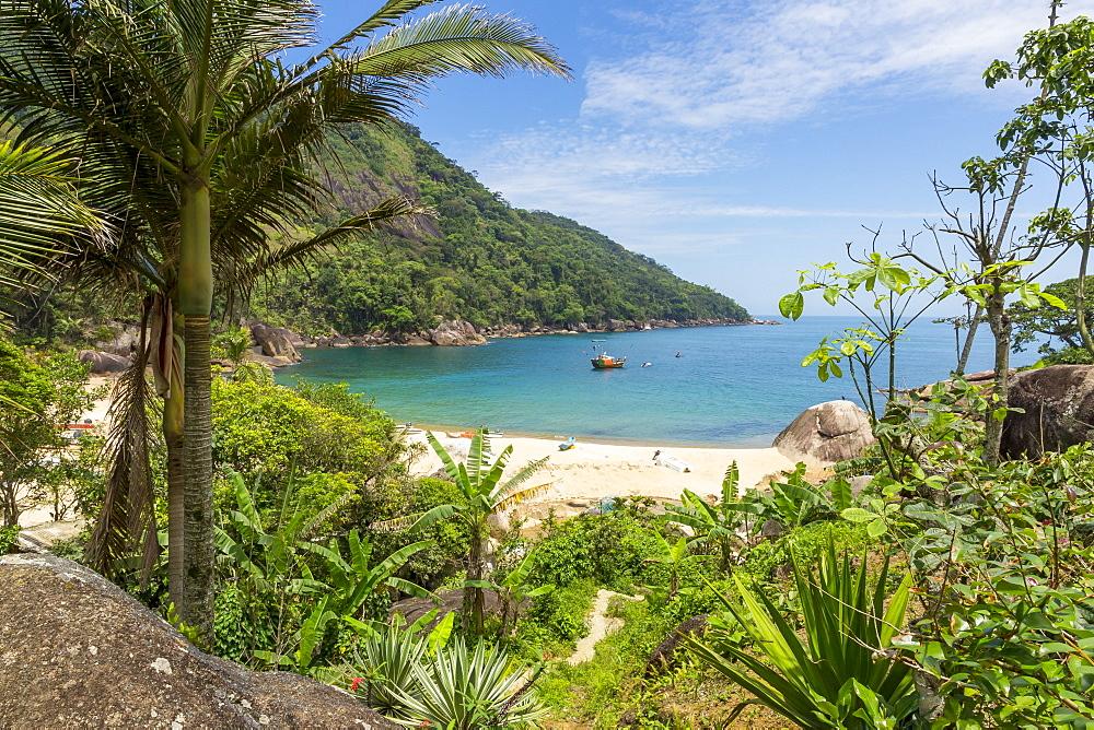 Ponta Negra Beach near Paraty, Rio de Janeiro, Brazil