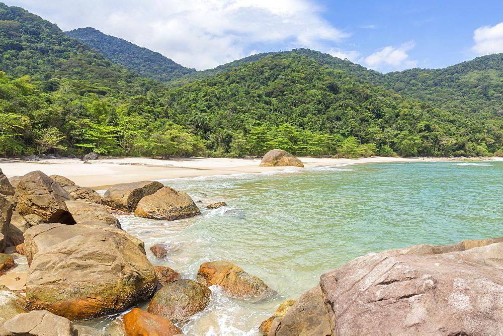 Antigo Beach near Paraty, Rio de Janeiro, Brazil
