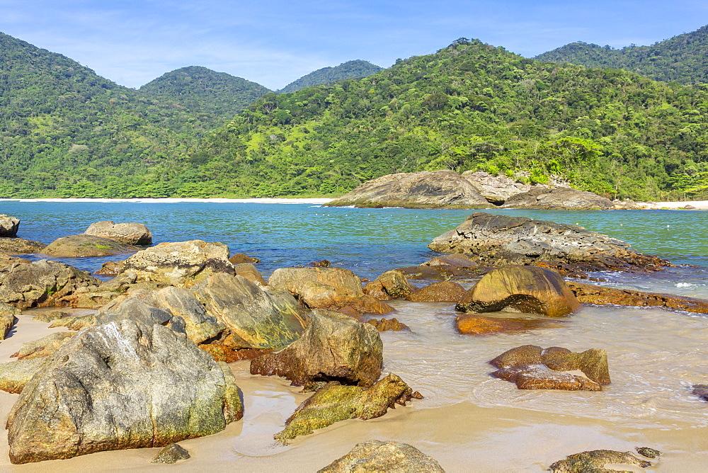 Meio Beach and Cachadaco Beach near Trindade, Paraty, Rio de Janeiro, Brazil