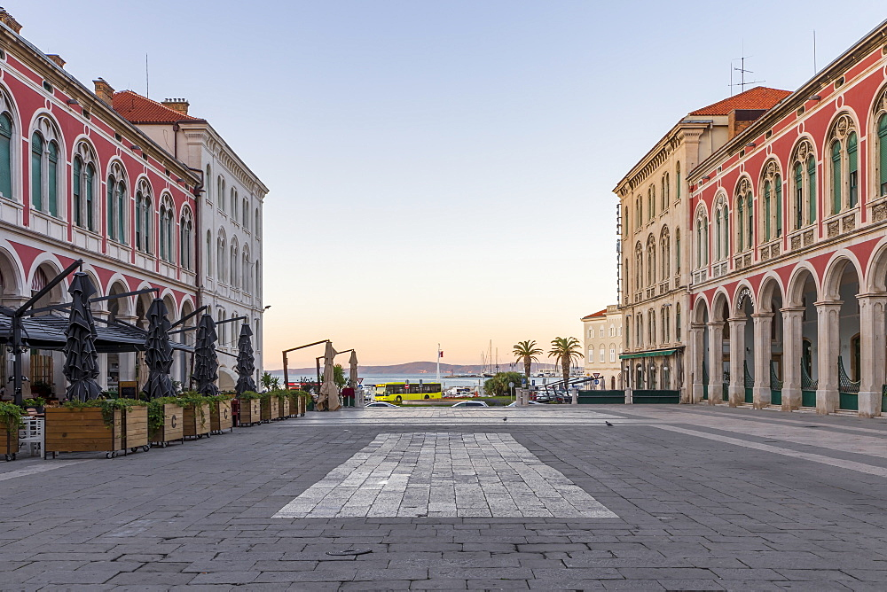 Republic Square (Trg Republike), Split, Croatia, Europe