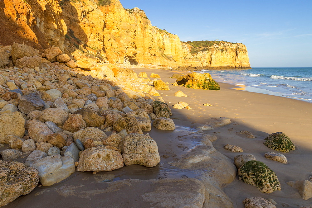 Canavial Beach near Lagos, Algarve, Portugal, Europe