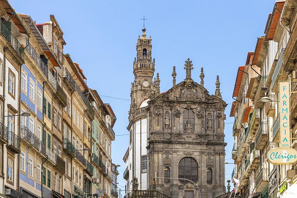 Clerigos Church, Porto, Portugal, Europe