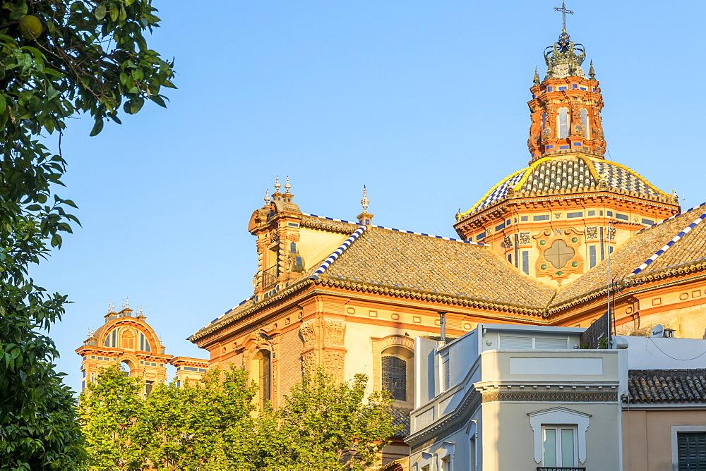 Cupula of the Santa Maria Magdalena Church, Seville, Andalusia, Spain, Europe