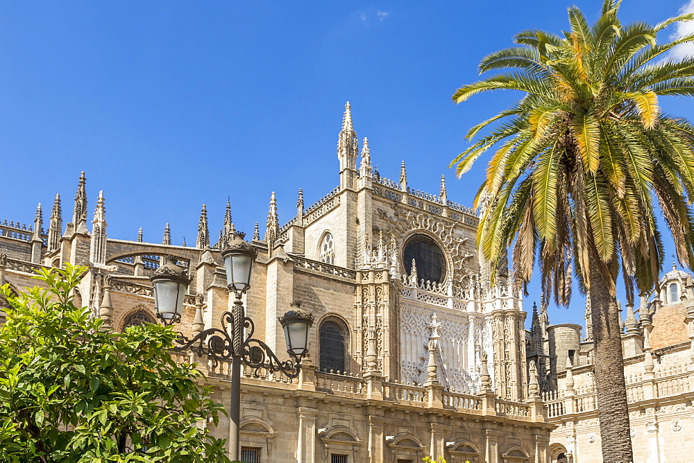 Cathedral of Seville, UNESCO World Heritage Site, Seville, Andalusia, Spain, Europe
