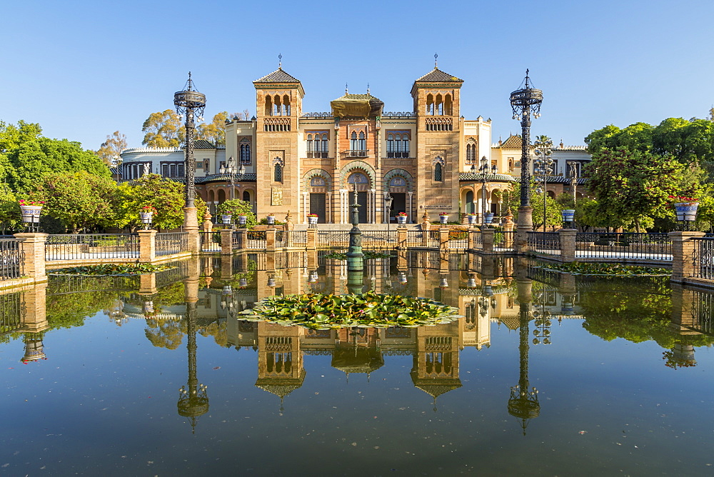 Museum of Popular Arts and Traditions at Plaza America, Seville, Andalusia, Spain, Europe