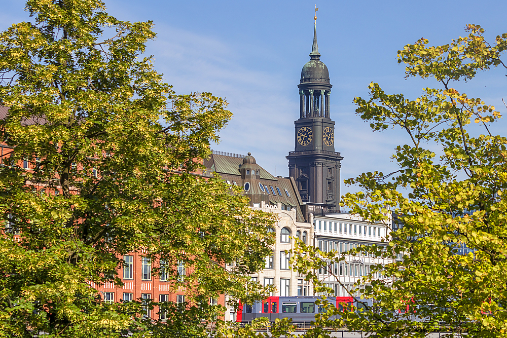 St. Michael's Church, Hamburg, Germany, Europe