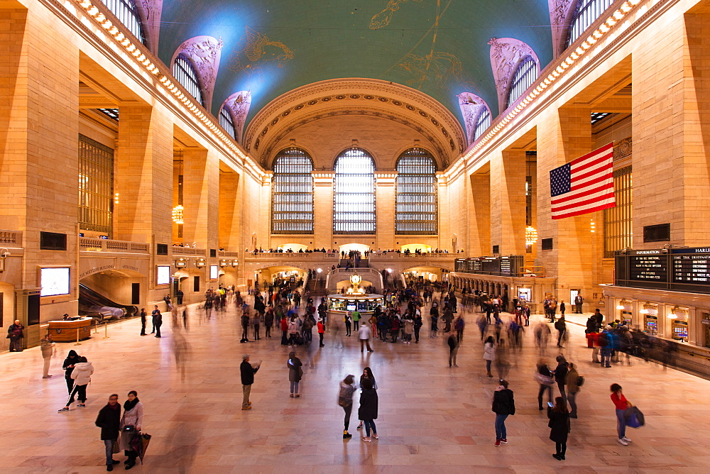 Main concourse at Grand Central Station, New York City, New York, United States of America, North America