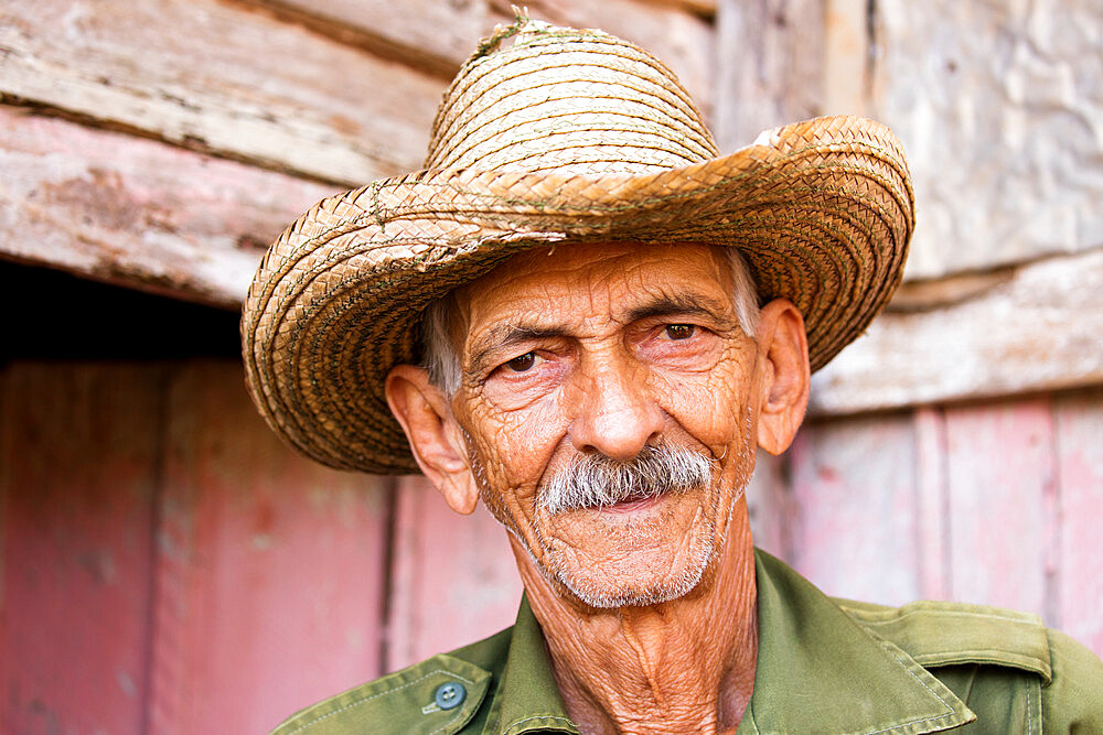 Cuban tobacco farmer in the Vinales valley, Cuba