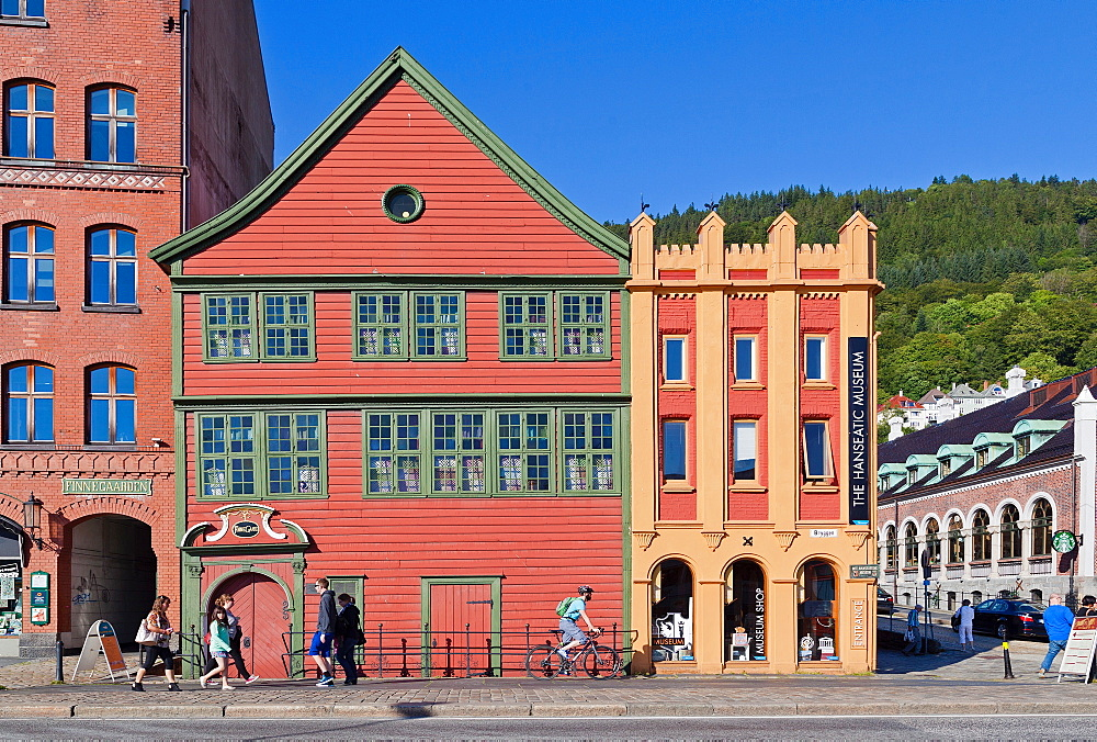 Hanseatic Museum, Bergen, Norway, Scandinavia, Europe