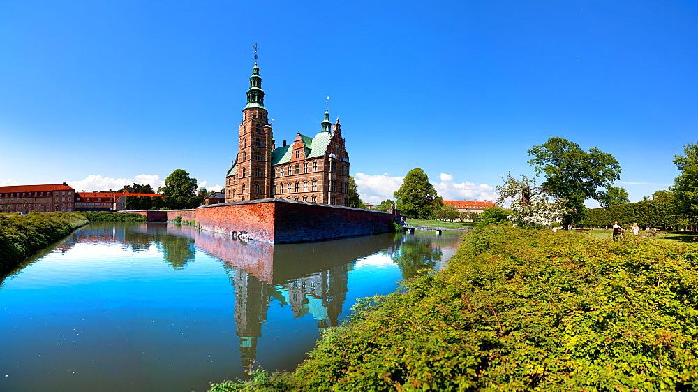 Rosenborg Castle, Copenhagen, Denmark, Europe - 1292-1026