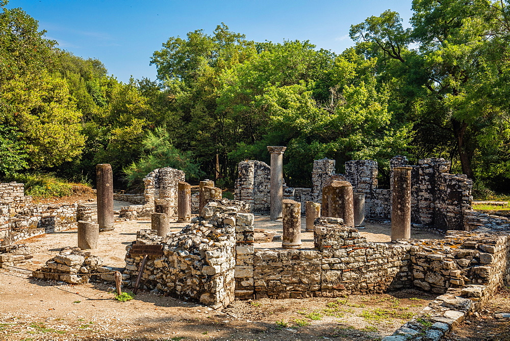 Butrint Archaeological Park, UNESCO World Heritage Site, Butrinto, Albania, Europe