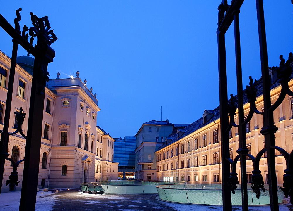 Joanneumsviertel Museum, Graz, Styria, Austria, Europe