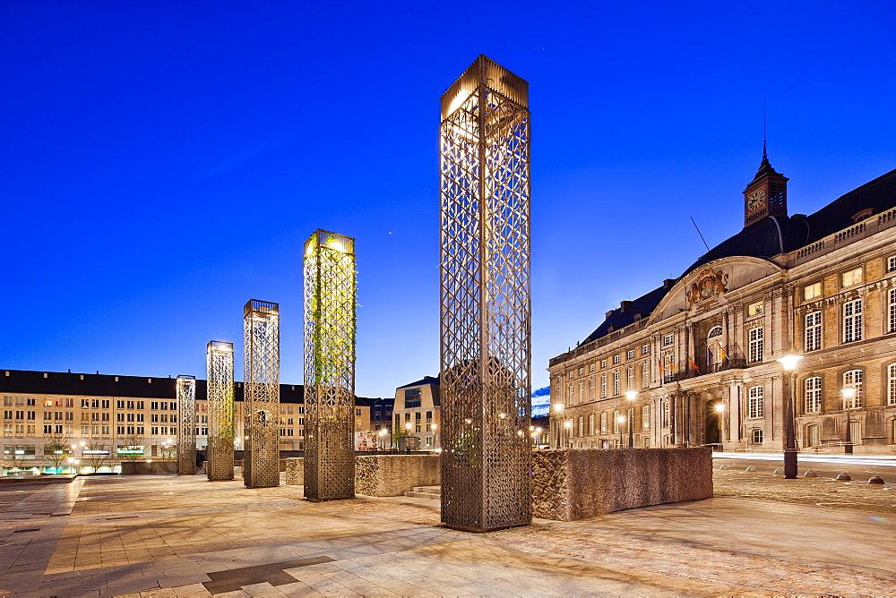 Place Saint Lambert, Liege, Belgium, Europe