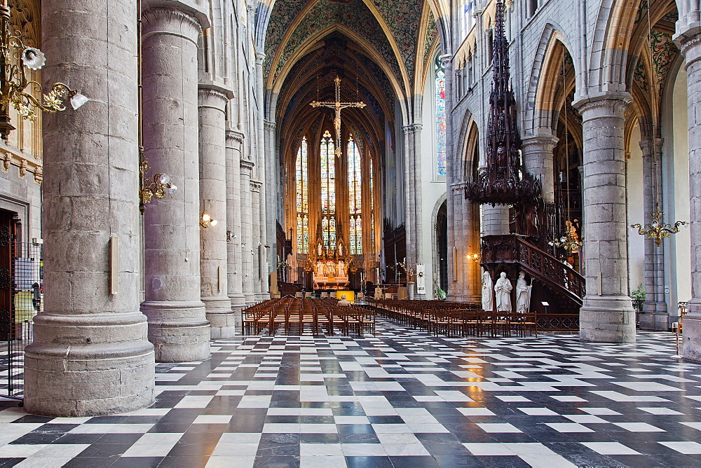 St. Paul's Cathedral, Liege, Belgium, Europe
