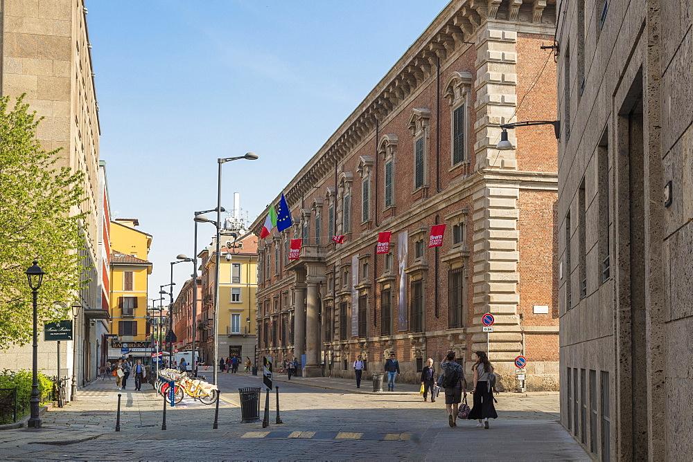 Pinacoteca di Brera, Milan, Lombardy, Italy, Europe