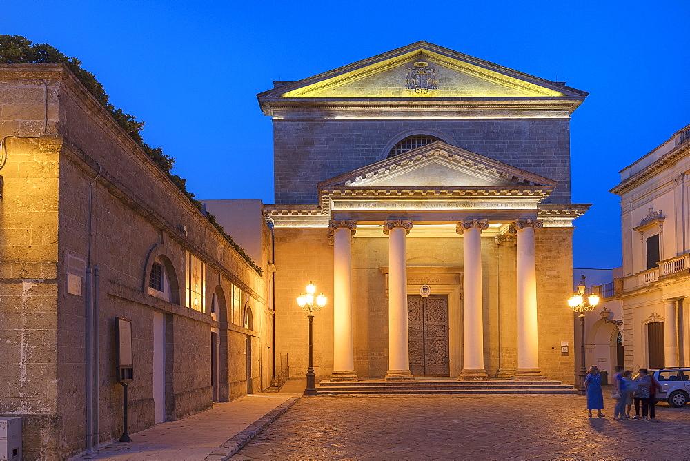 The Cathedral of Santa Maria Assunta, Ugento, Puglia, Italy, Europe